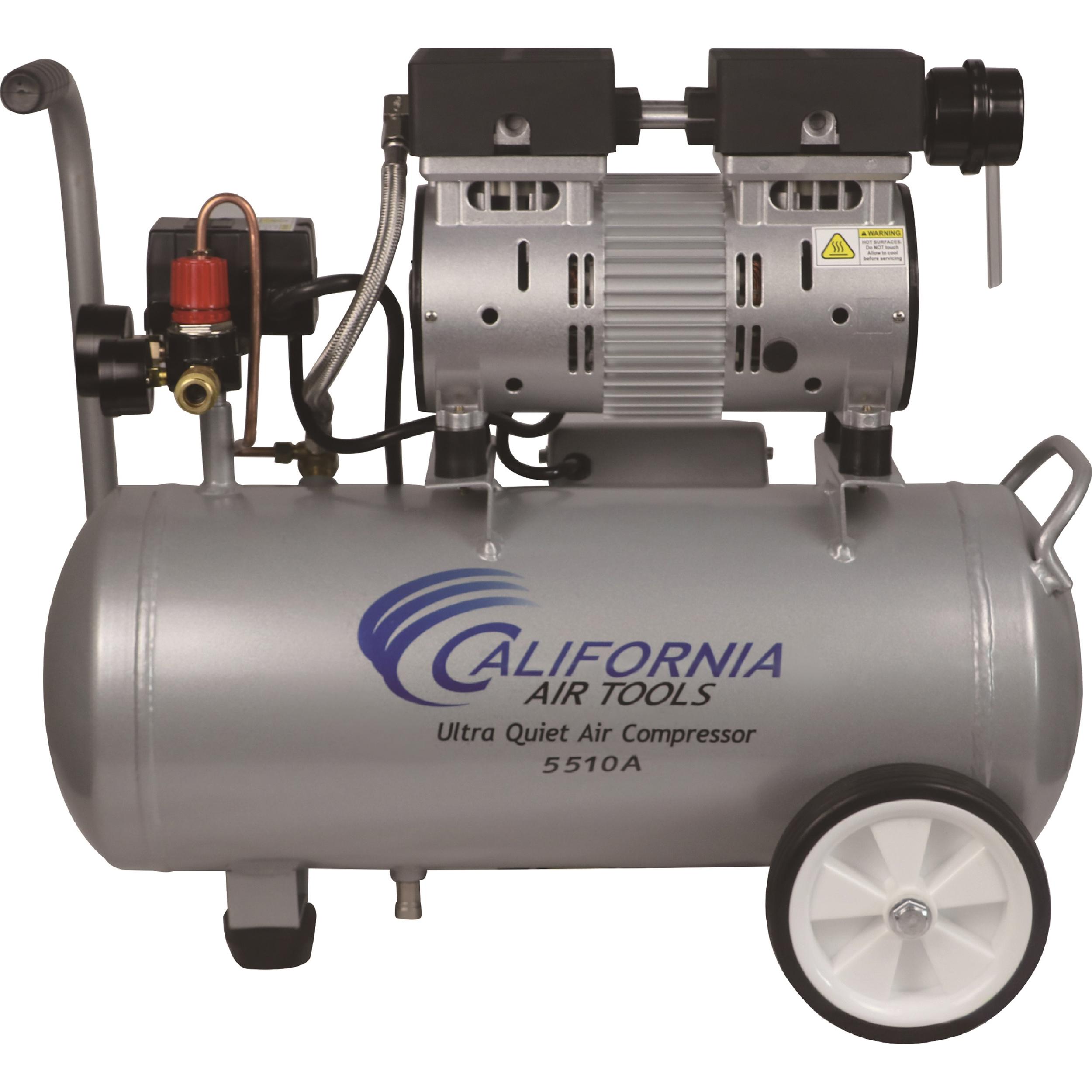 5510A Ultra Quiet 1 HP, 5.5 Gal. Aluminum Air Compressor