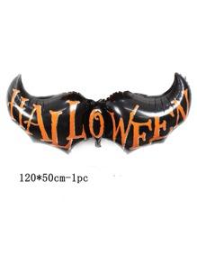 1pc Halloween Bat Shaped Balloon