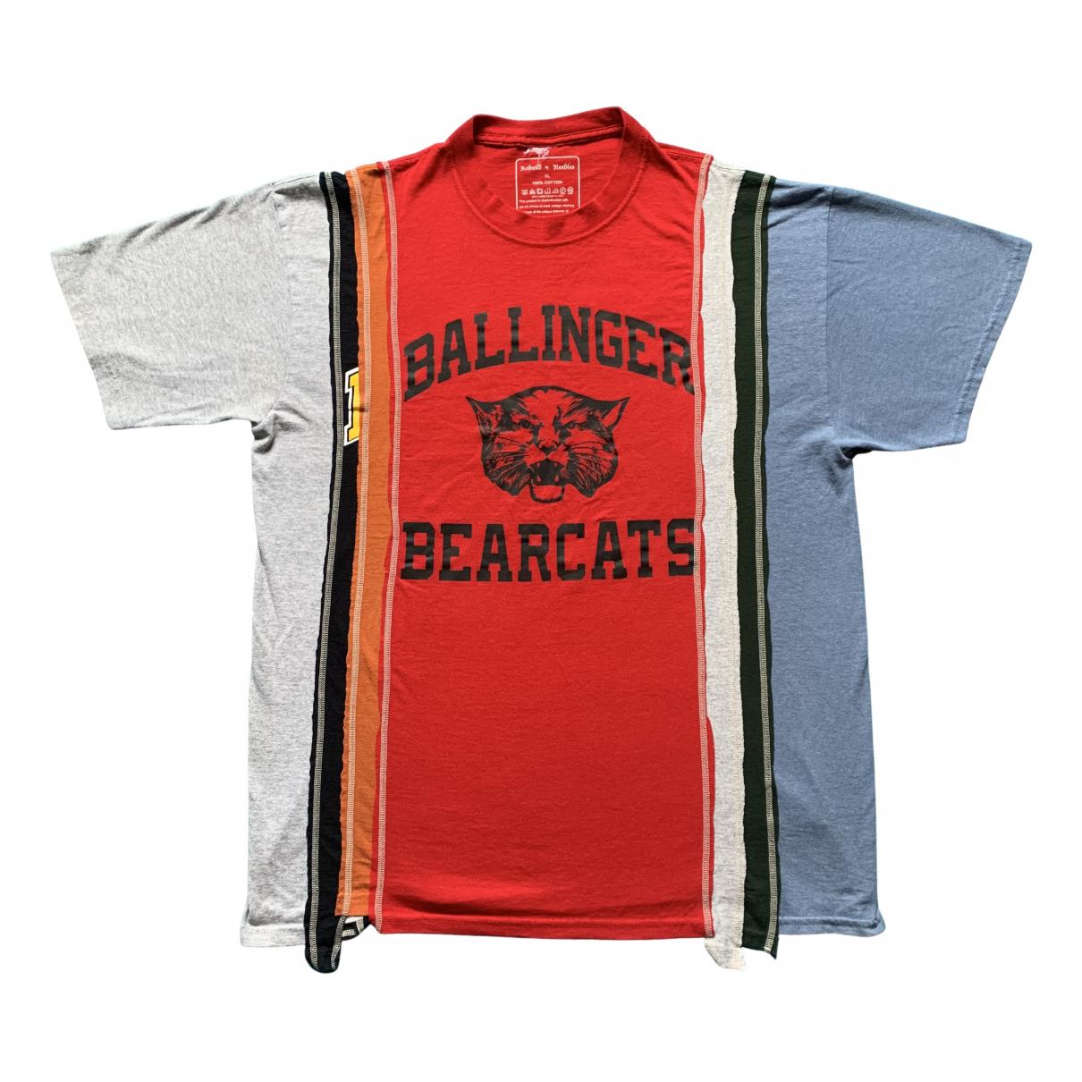 Needles - Tee shirts   pour homme en coton - multicolore