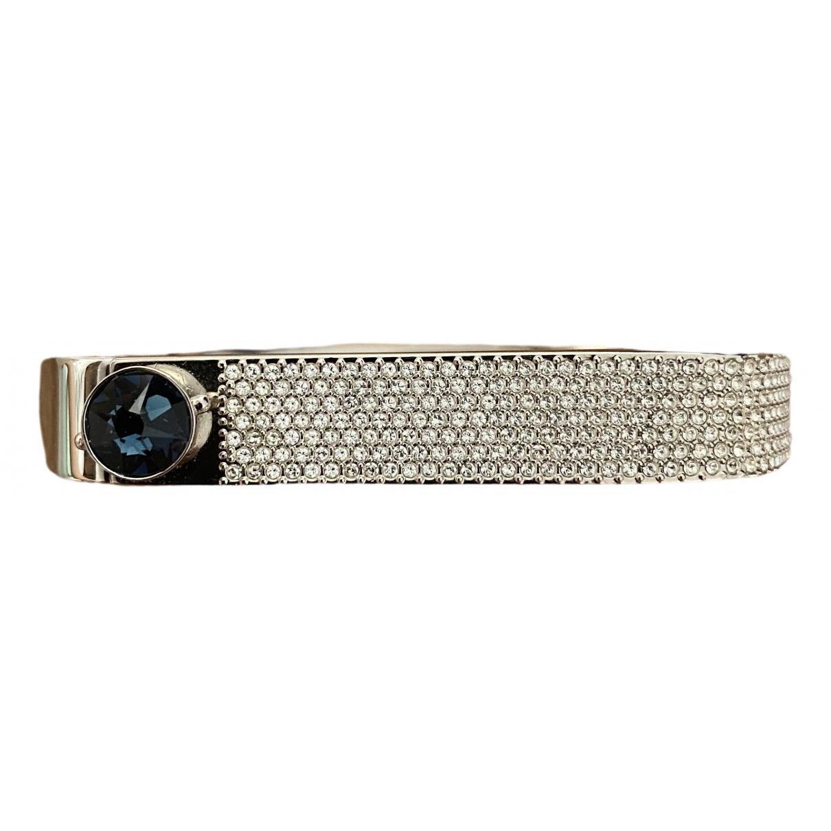 Swarovski \N Armband in  Blau Kristall