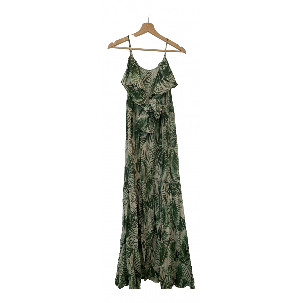 Stella Forest \N Kleid in  Gruen Baumwolle