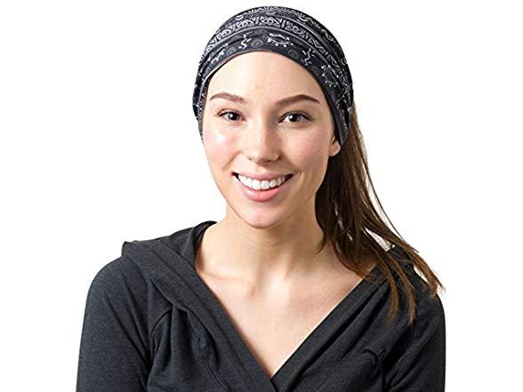 Riptgear Tribal Black And White Headband