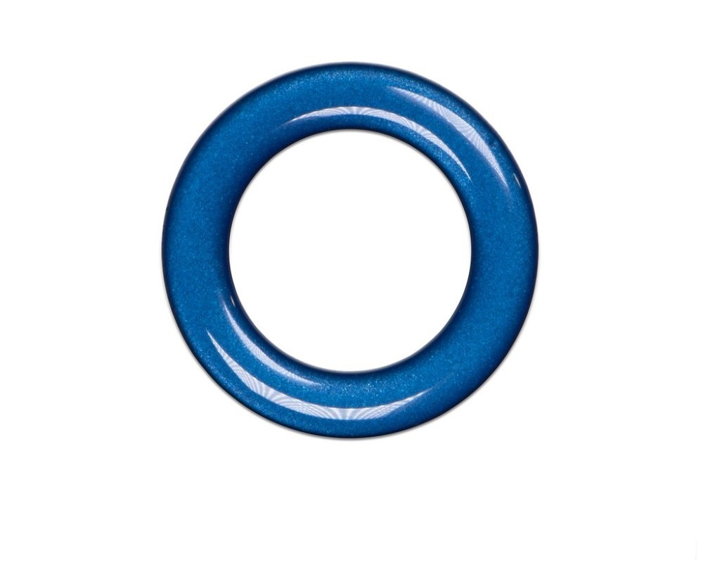 Tufskinz TUN008-GBL-G Key Ignition Accent Ring Fits 3Rd Gen Toyota Tacoma & Tundra 1 Piece Kit In Blazing Blue