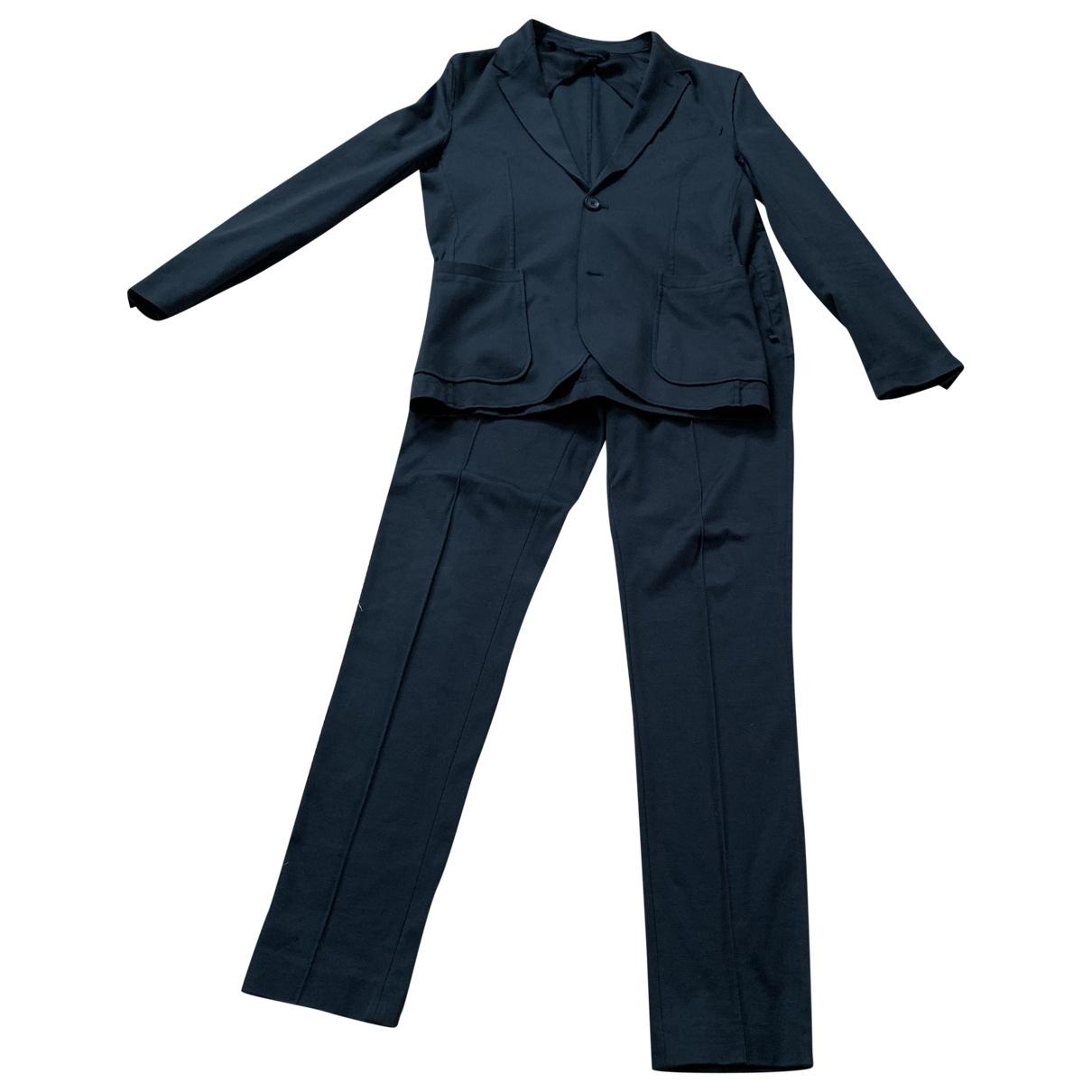 Lanvin - Costumes   pour homme en coton - vert