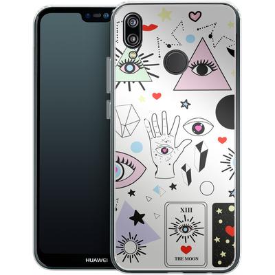 Huawei P20 Lite Silikon Handyhuelle - Evil Eye von Mukta Lata Barua