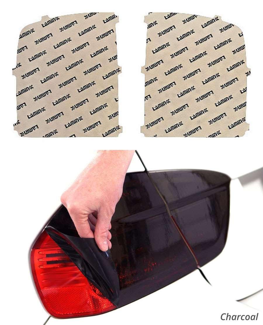 GMC Sierra 14-15 Charcoal Tail Light Covers Lamin-X G214C
