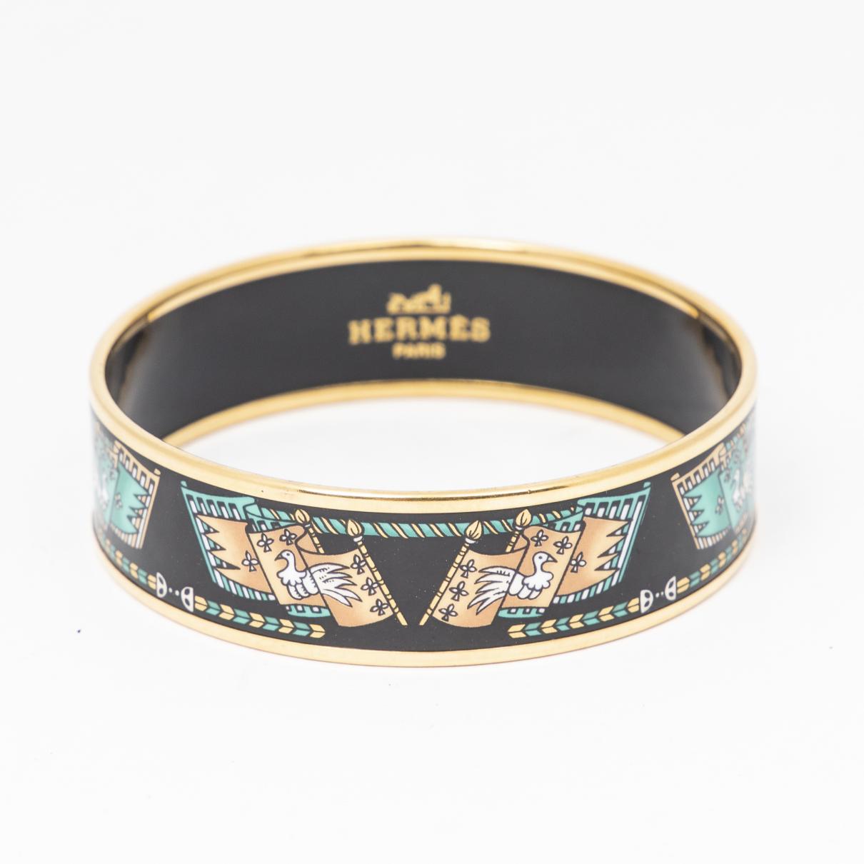 Hermes \N Armband Schwarz