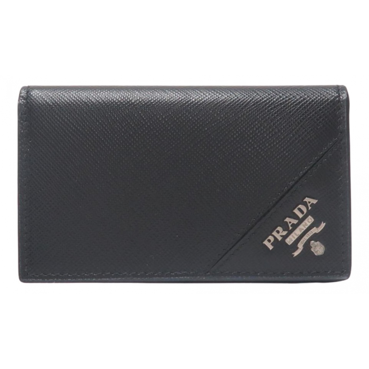 Prada \N Leather Small bag, wallet & cases for Men \N