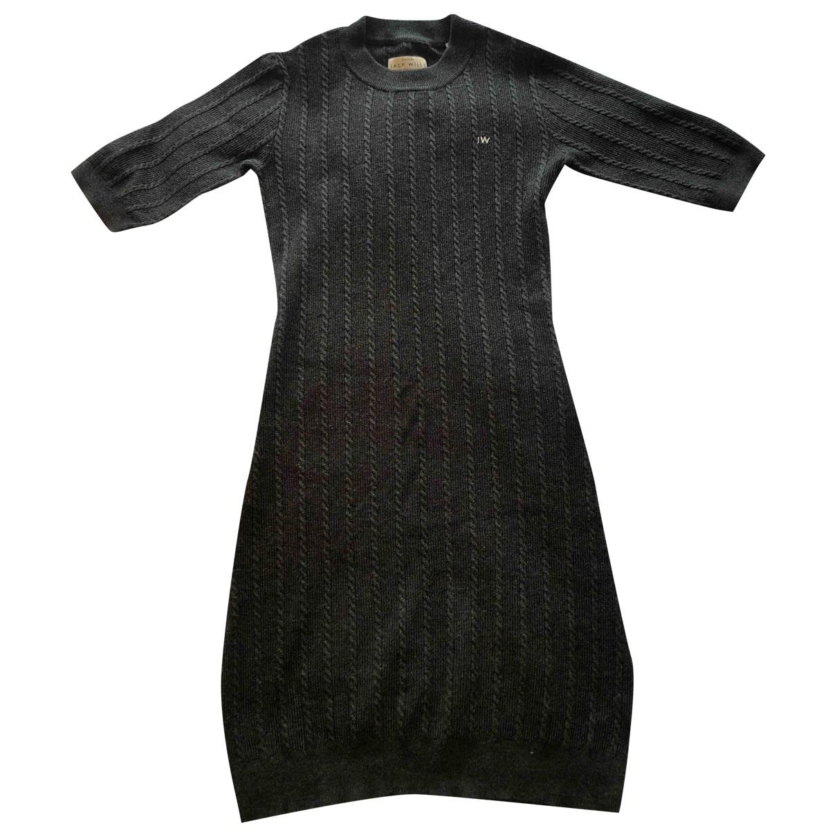 Jack Wills \N Kleid in  Grau Polyester