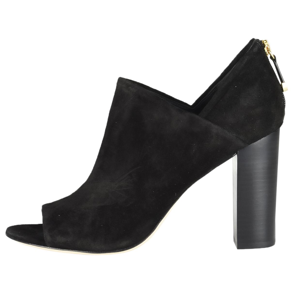 Diane Von Furstenberg N Black Suede Ankle boots for Women 41 EU