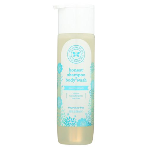 Body Wash Fragrance Free 10 Oz by The Honest Company