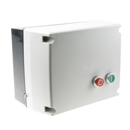 RS PRO 30 kW Star Delta Starter, 400 V ac, 3 Phase, IP65