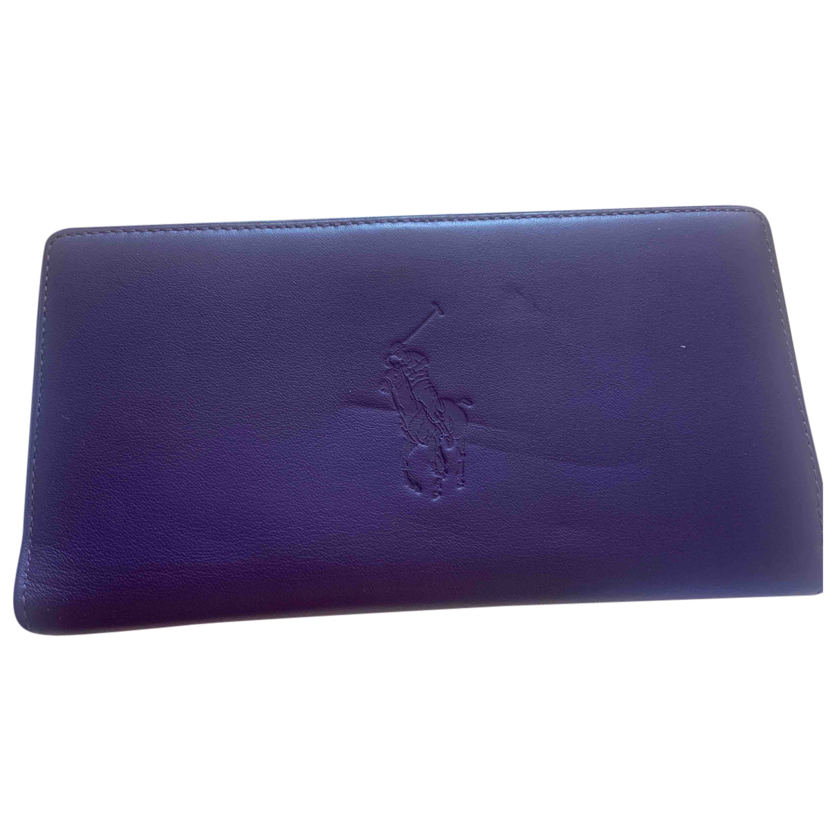 Ralph Lauren Collection N Purple Leather wallet for Women N
