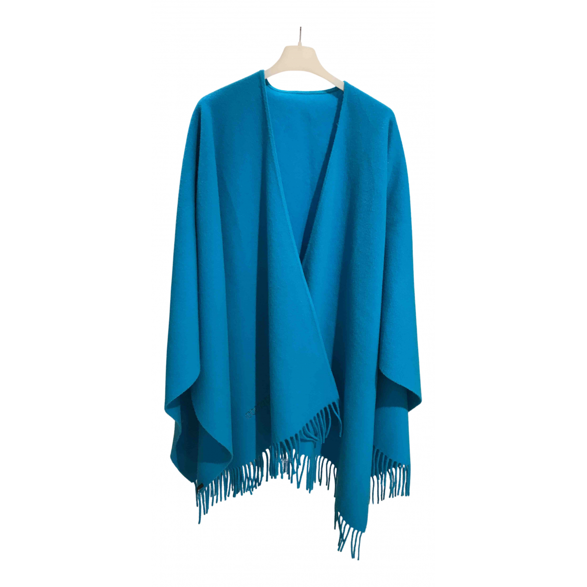 Roberto Cavalli N Turquoise Wool Knitwear for Women One Size FR