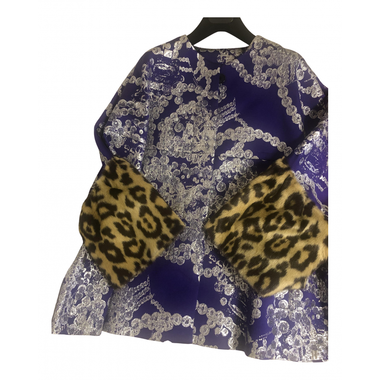 Dries Van Noten - Manteau   pour femme - violet