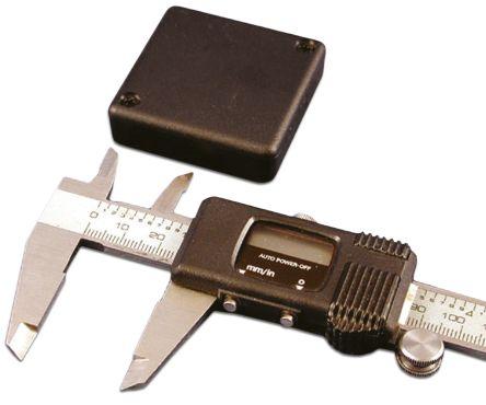 Hammond 1551, Black ABS Enclosure, IP54, 50 x 50 x 15mm