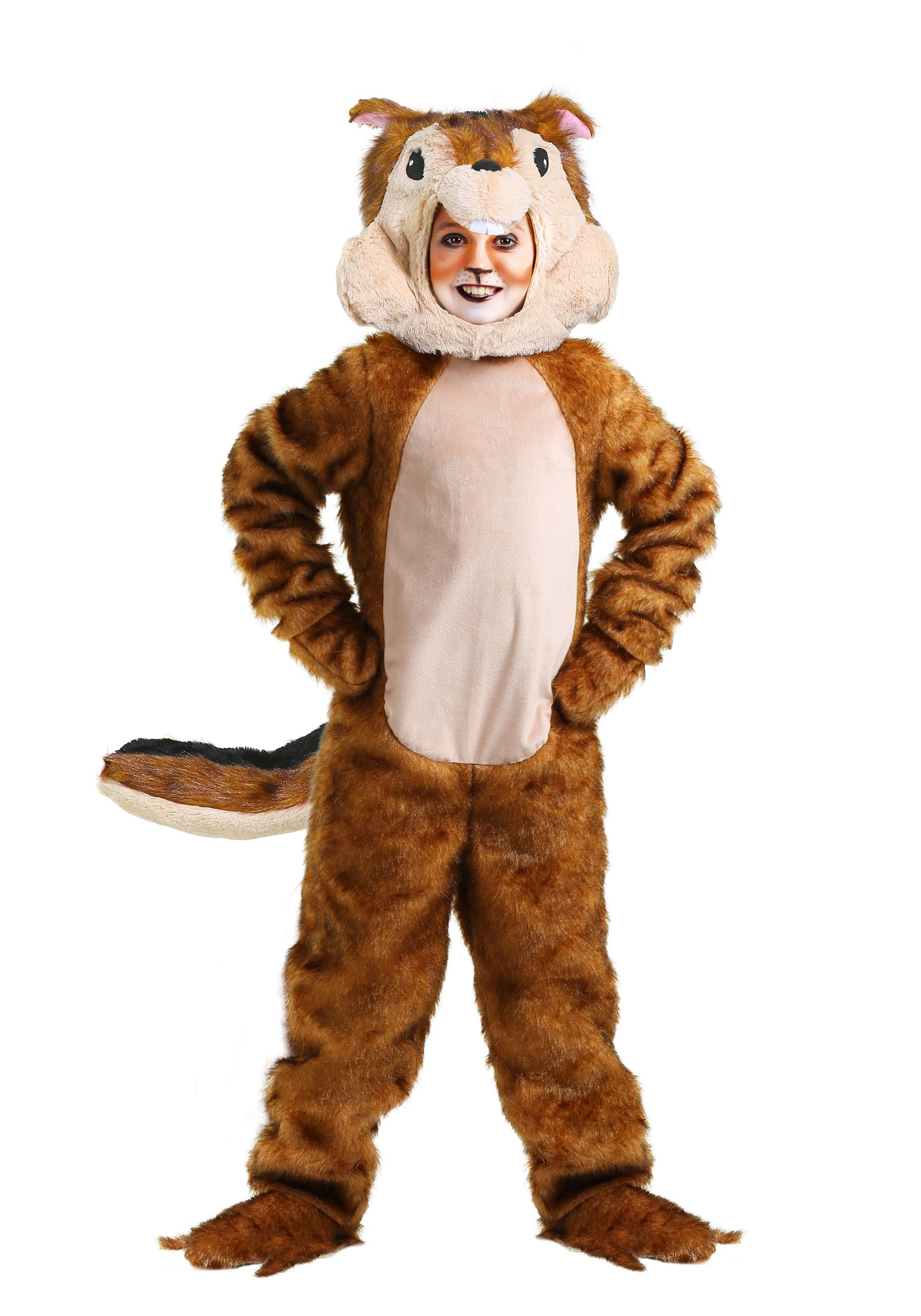 Chipmunk Costume for a Child