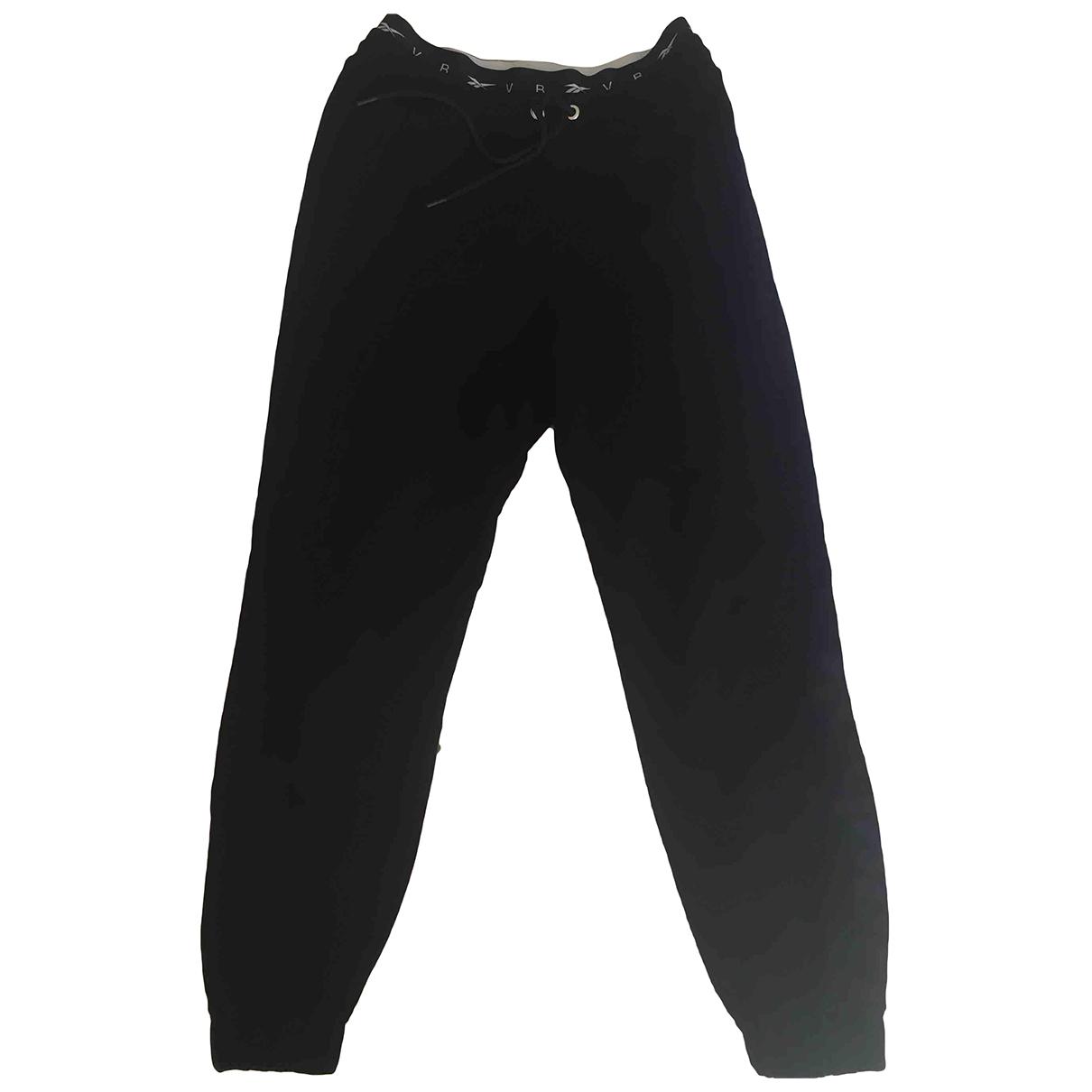 Reebok \N Black Cotton Trousers for Women S International
