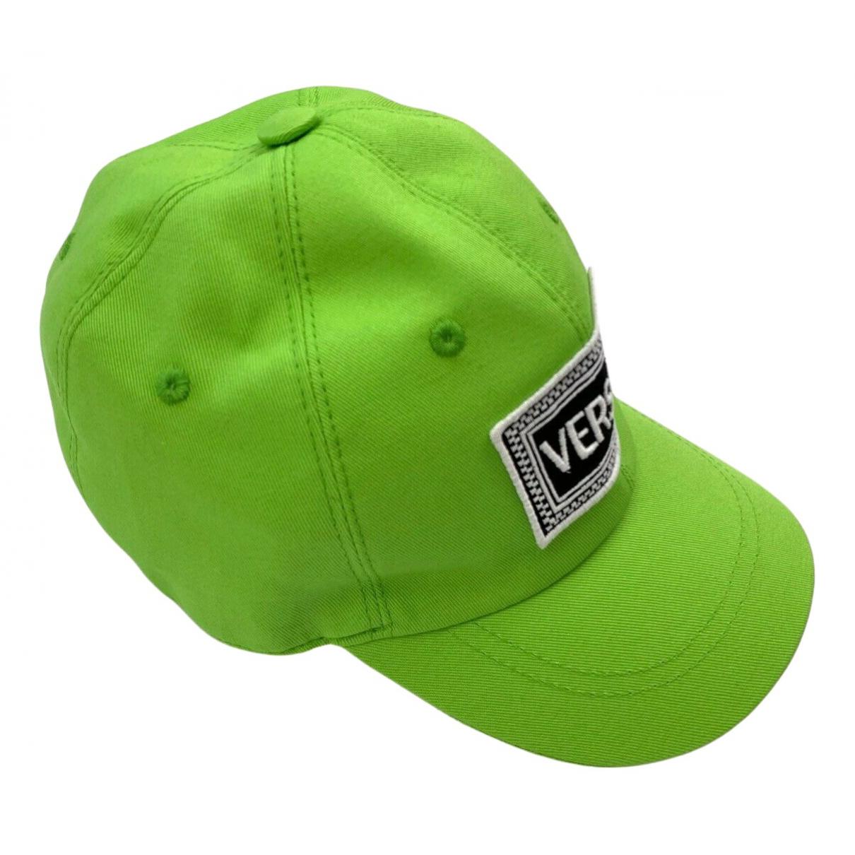 Versace - Chapeaux.Bonnets.Gants   pour enfant en coton - vert