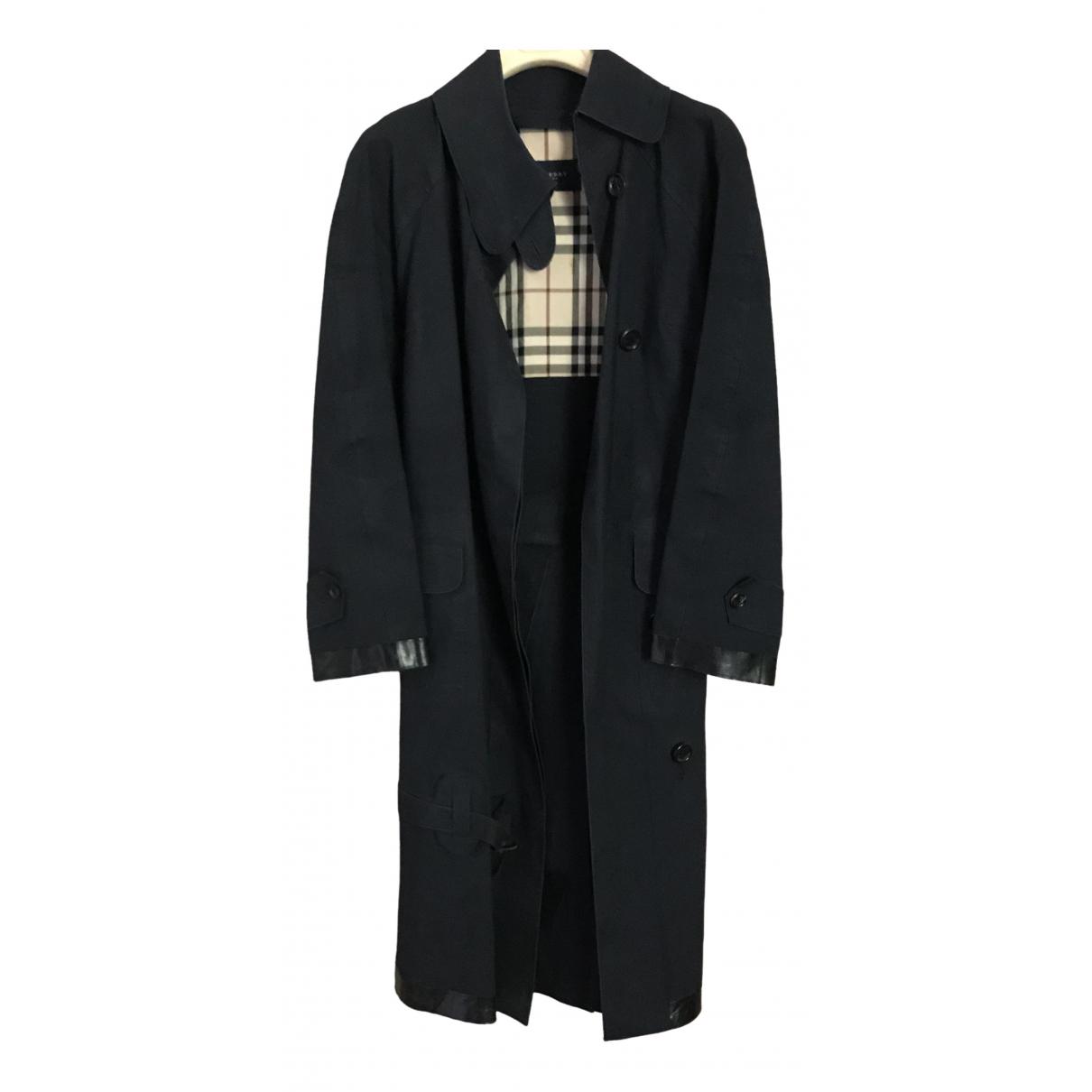 Burberry \N Blue Trench coat for Women 8 UK