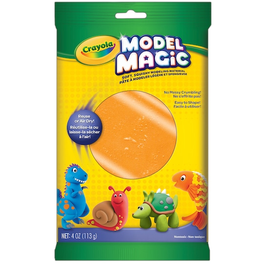 12 Pack: Crayola® Model Magic® 4 oz By Crayola Model Magic in Orange | Michaels®