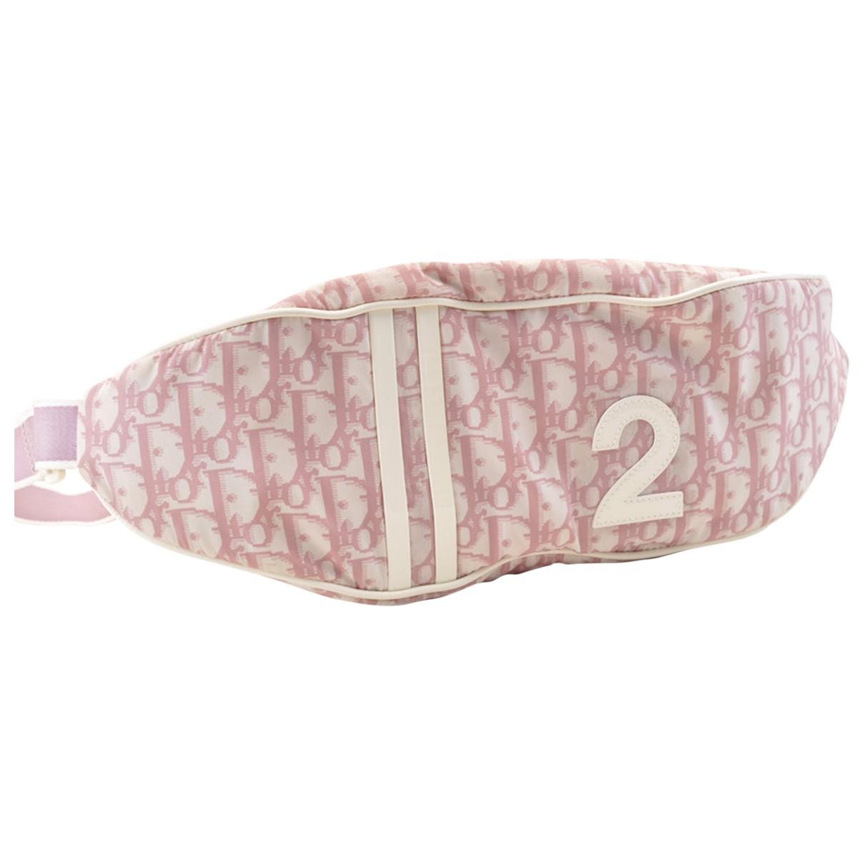 Gucci - Pochette   pour femme en toile - rose