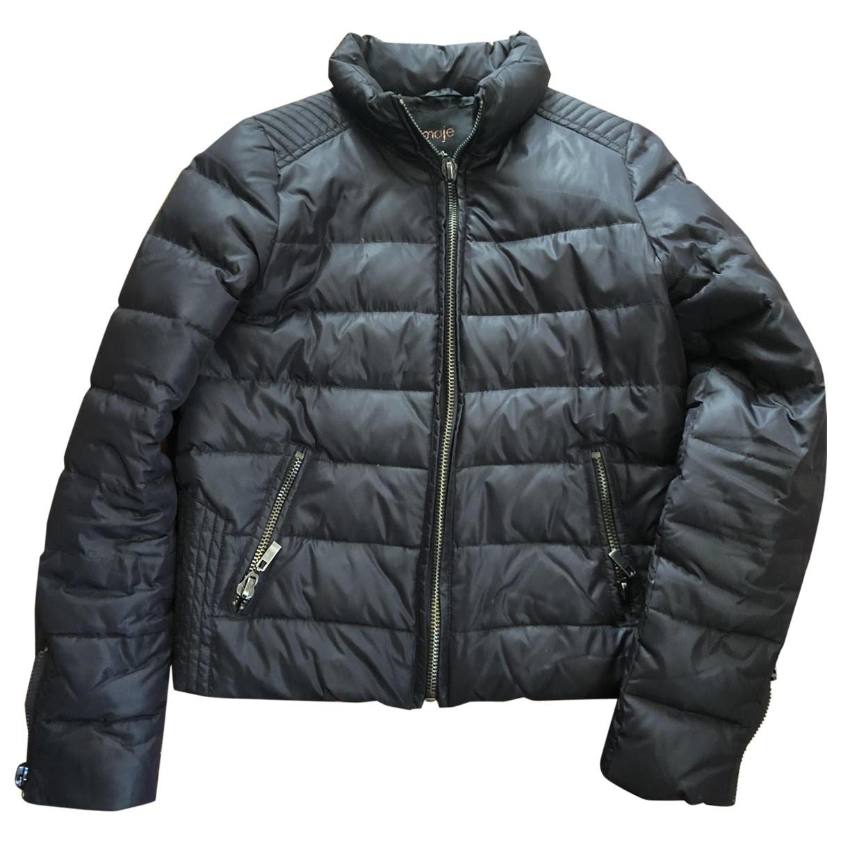 Maje \N Black coat for Women S International