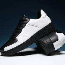 Maenner Zweifarbige atmungsaktive Sneakers