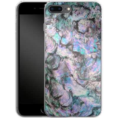Apple iPhone 7 Plus Silikon Handyhuelle - Mother of Pearl von Emanuela Carratoni