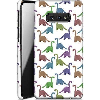 Samsung Galaxy S10e Smartphone Huelle - Cute Dinosaurs von Becky Starsmore