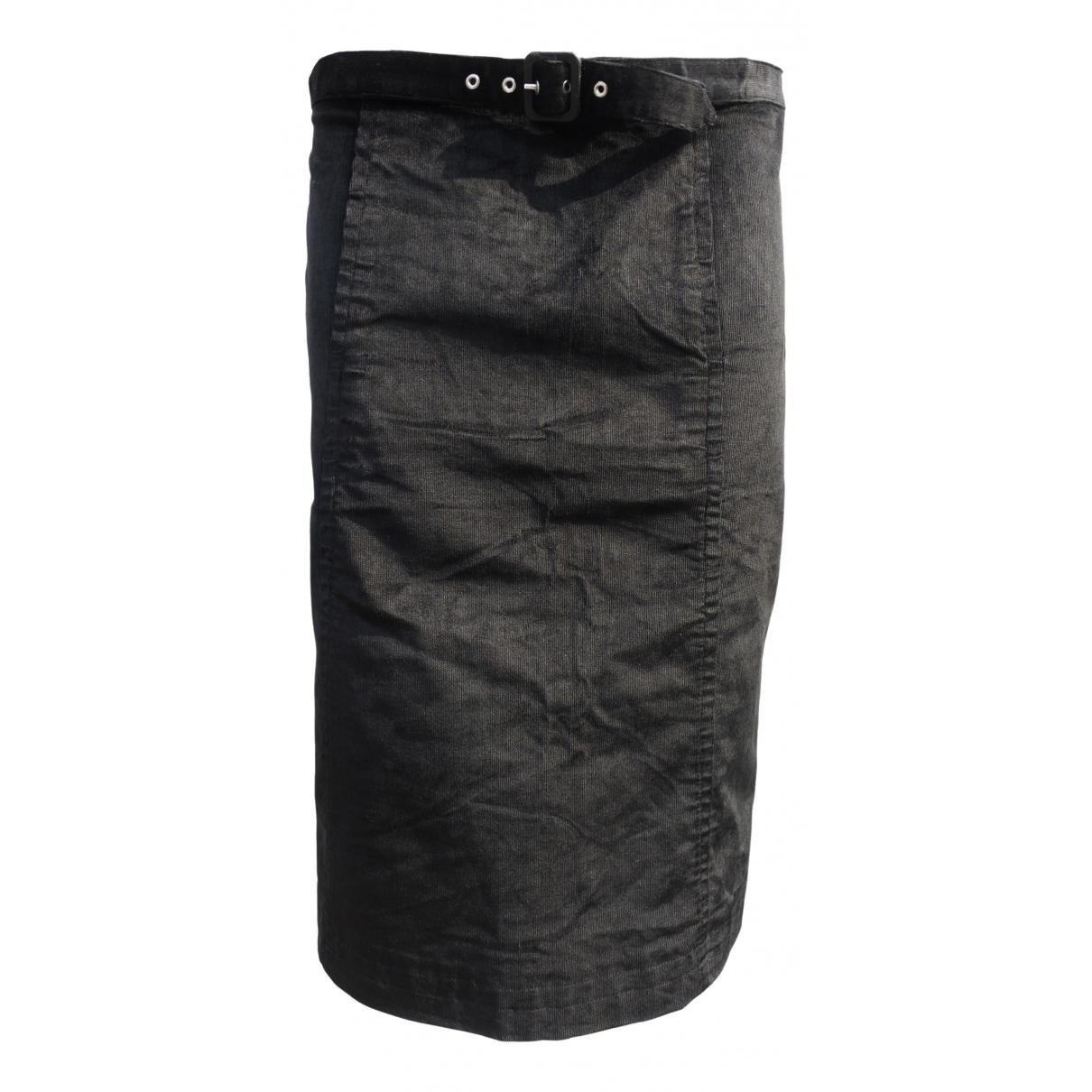 Armani Jeans \N Rocke in  Schwarz Samt