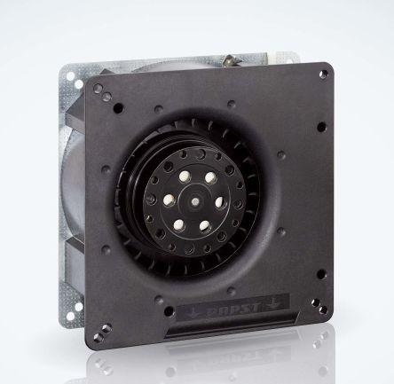 ebm-papst Centrifugal Fan 135 x 135 x 38mm, 54m³/h, 230 V ac AC (RG90 Series)