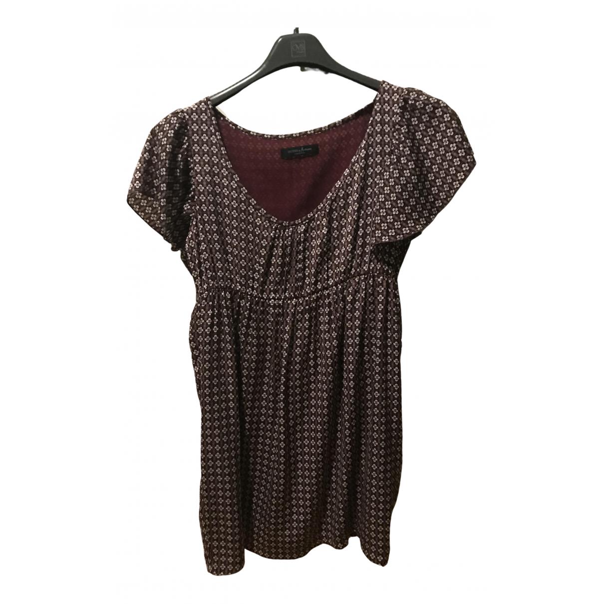 Guess \N Kleid in  Lila Viskose