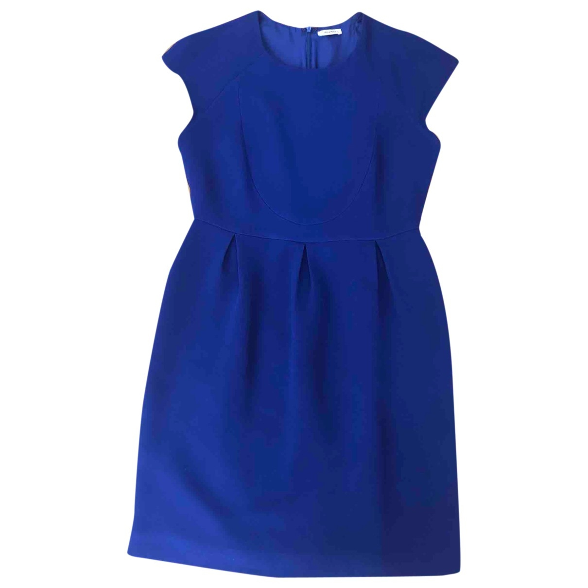 Miu Miu \N Kleid in  Blau Synthetik