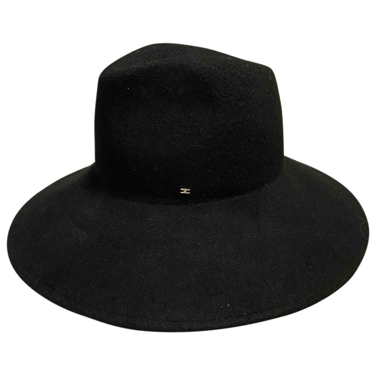 Elisabetta Franchi N Black Wool hat for Women 55 cm
