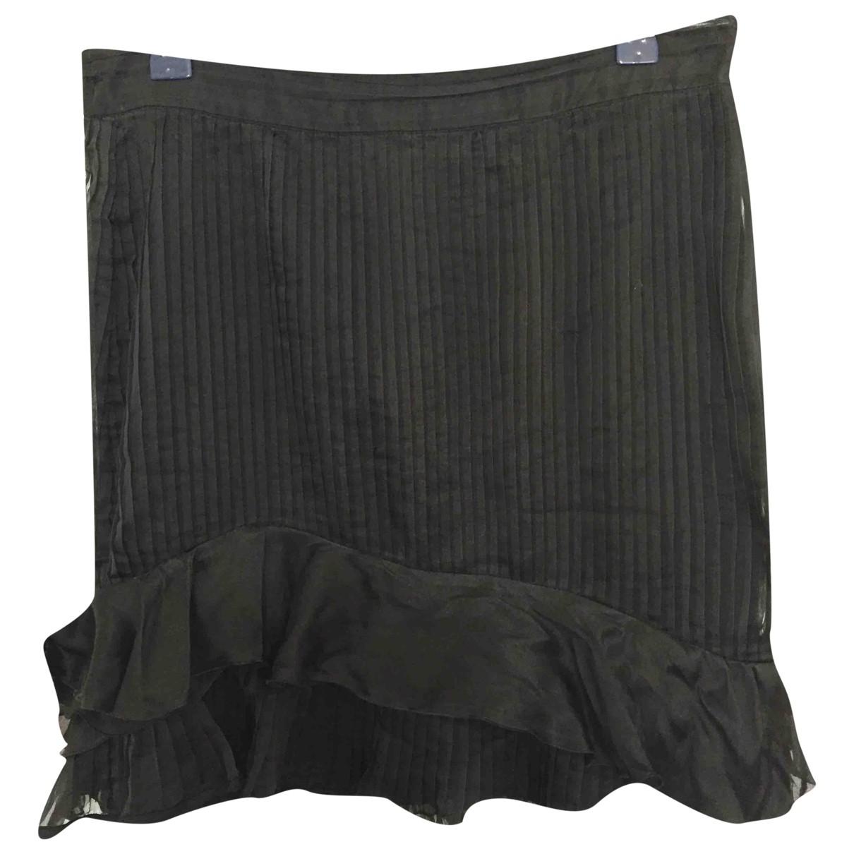 Isabel Marant \N Black Silk skirt for Women 40 FR