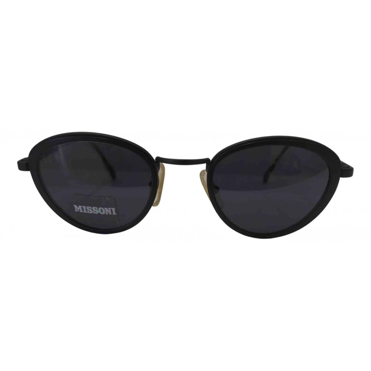Missoni \N Black Metal Sunglasses for Women \N