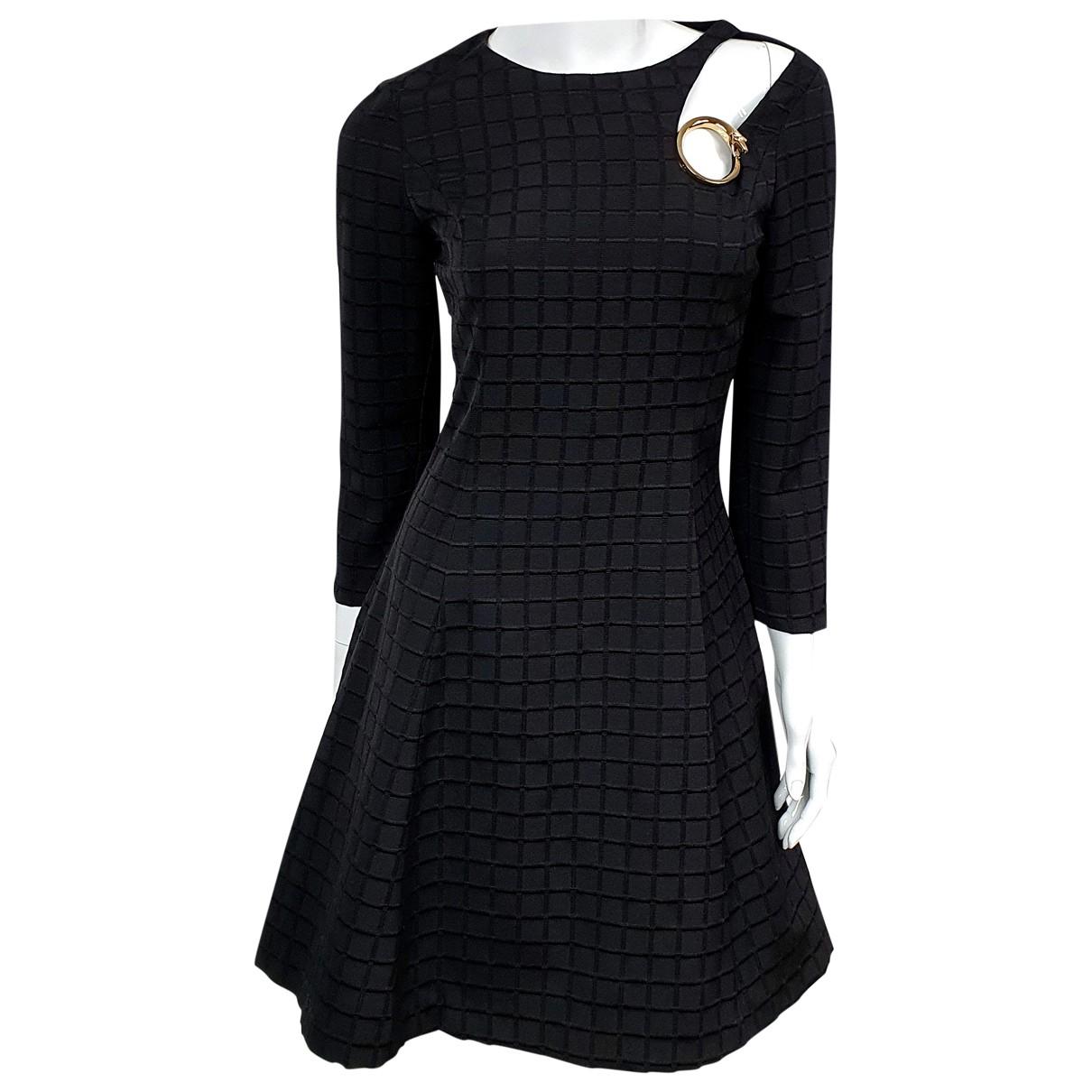 Class Cavalli \N Black Cotton dress for Women 40 IT