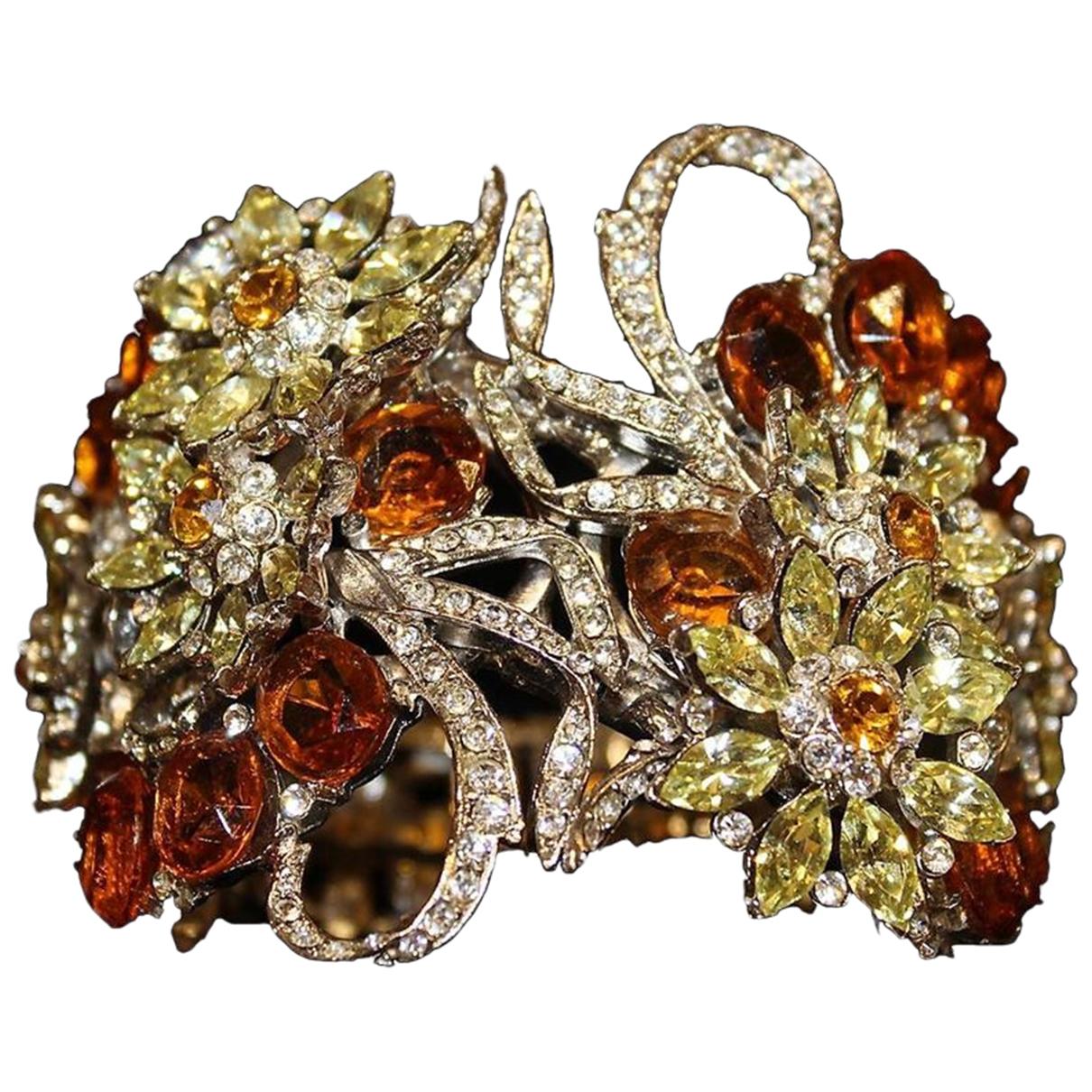 Carlo Zini - Bracelet   pour femme en metal - metallise