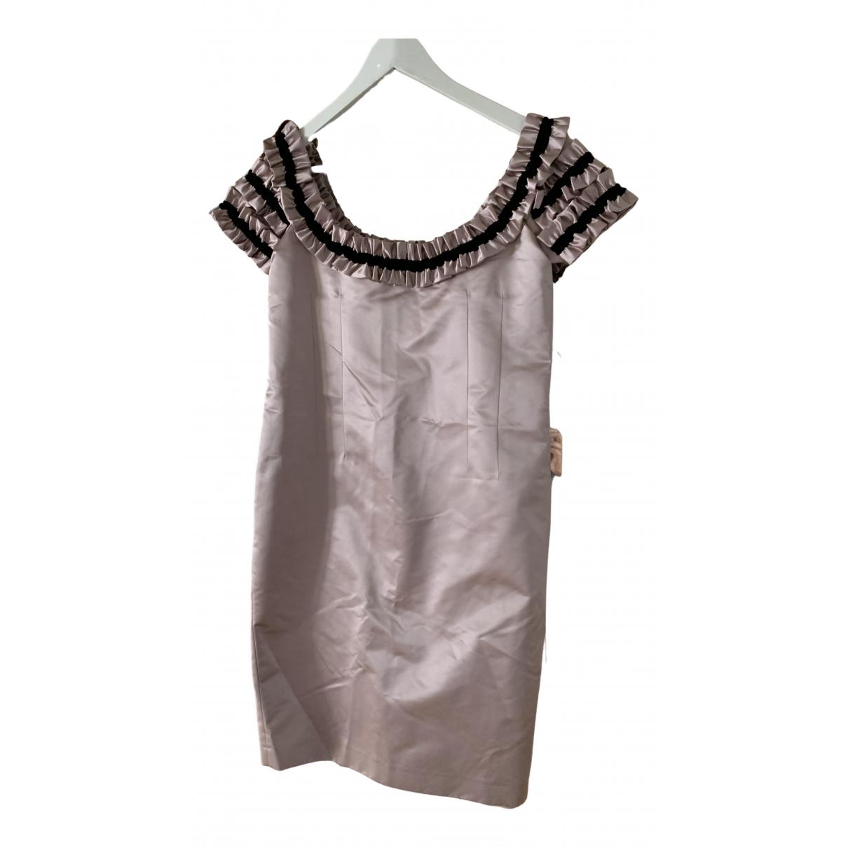 Paul & Joe - Robe   pour femme en soie - rose