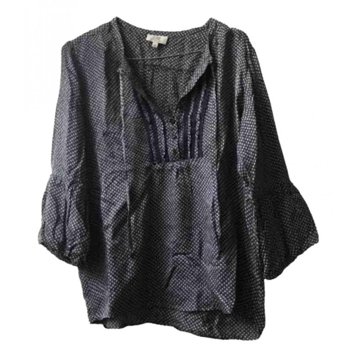 Gerard Darel - Top   pour femme en coton - bleu
