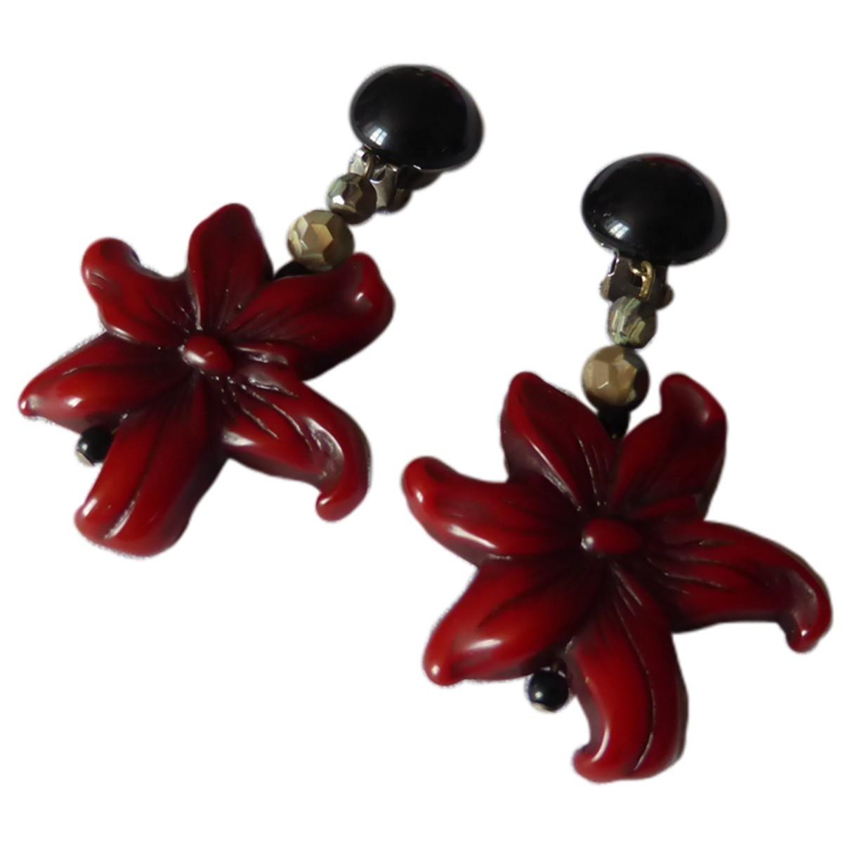 Angela Caputi \N Red Earrings for Women \N