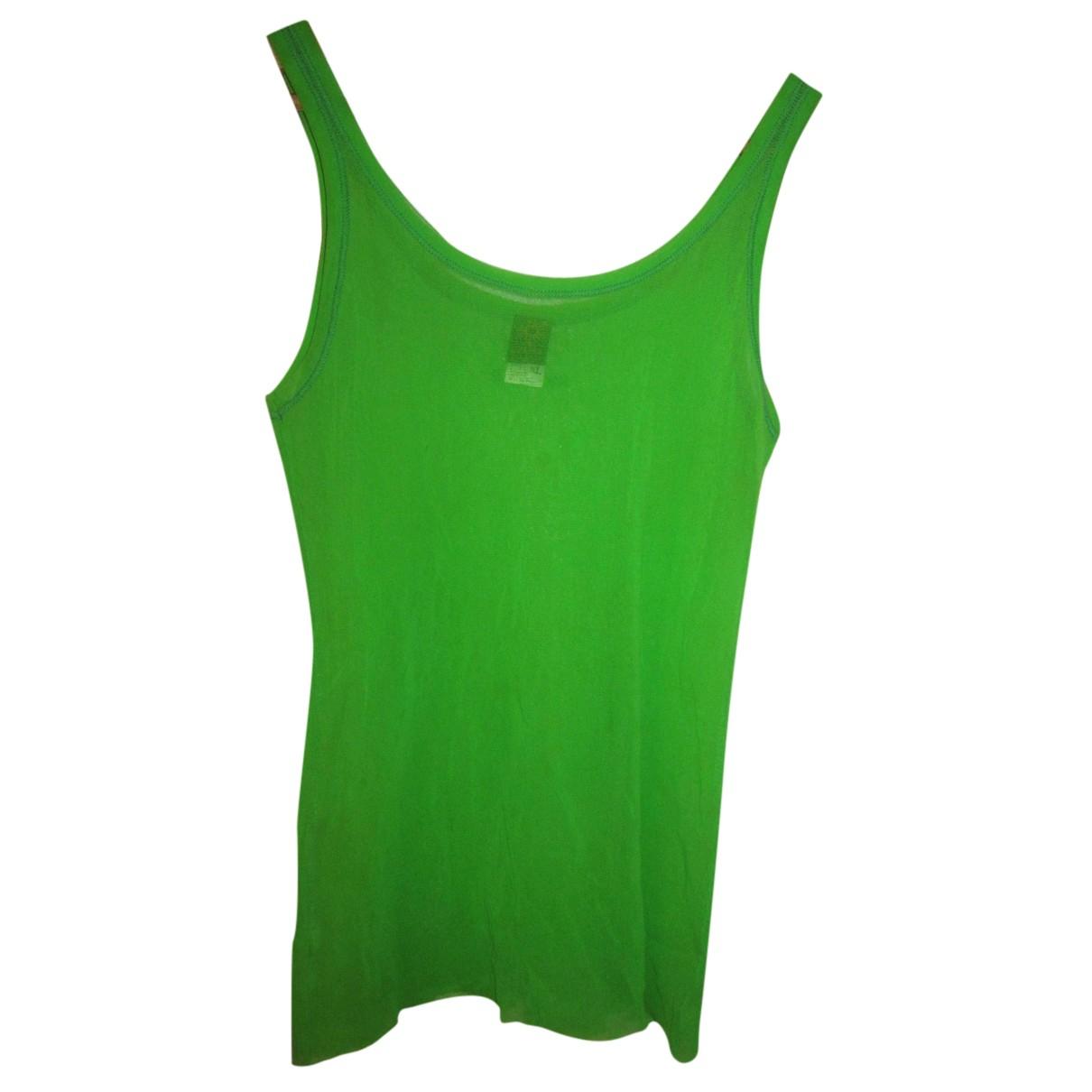 Jean Paul Gaultier - Top   pour femme - vert