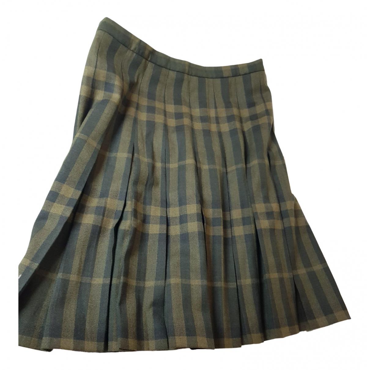 Burberry - Jupe   pour femme en coton - vert