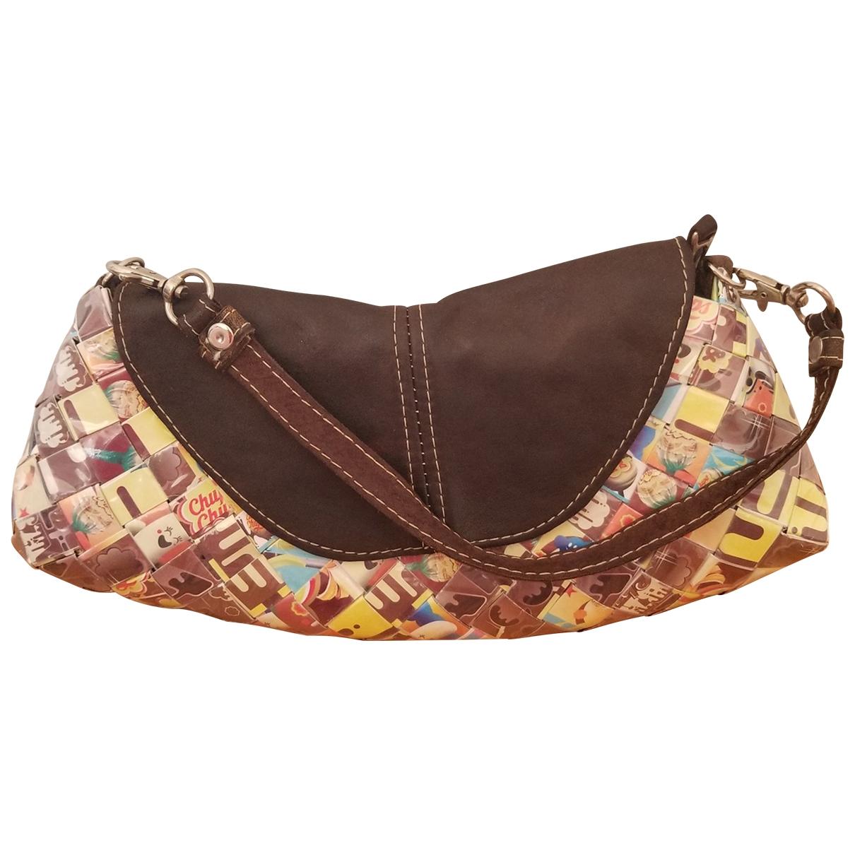 Non Signe / Unsigned \N Handtasche in  Bunt Kunststoff