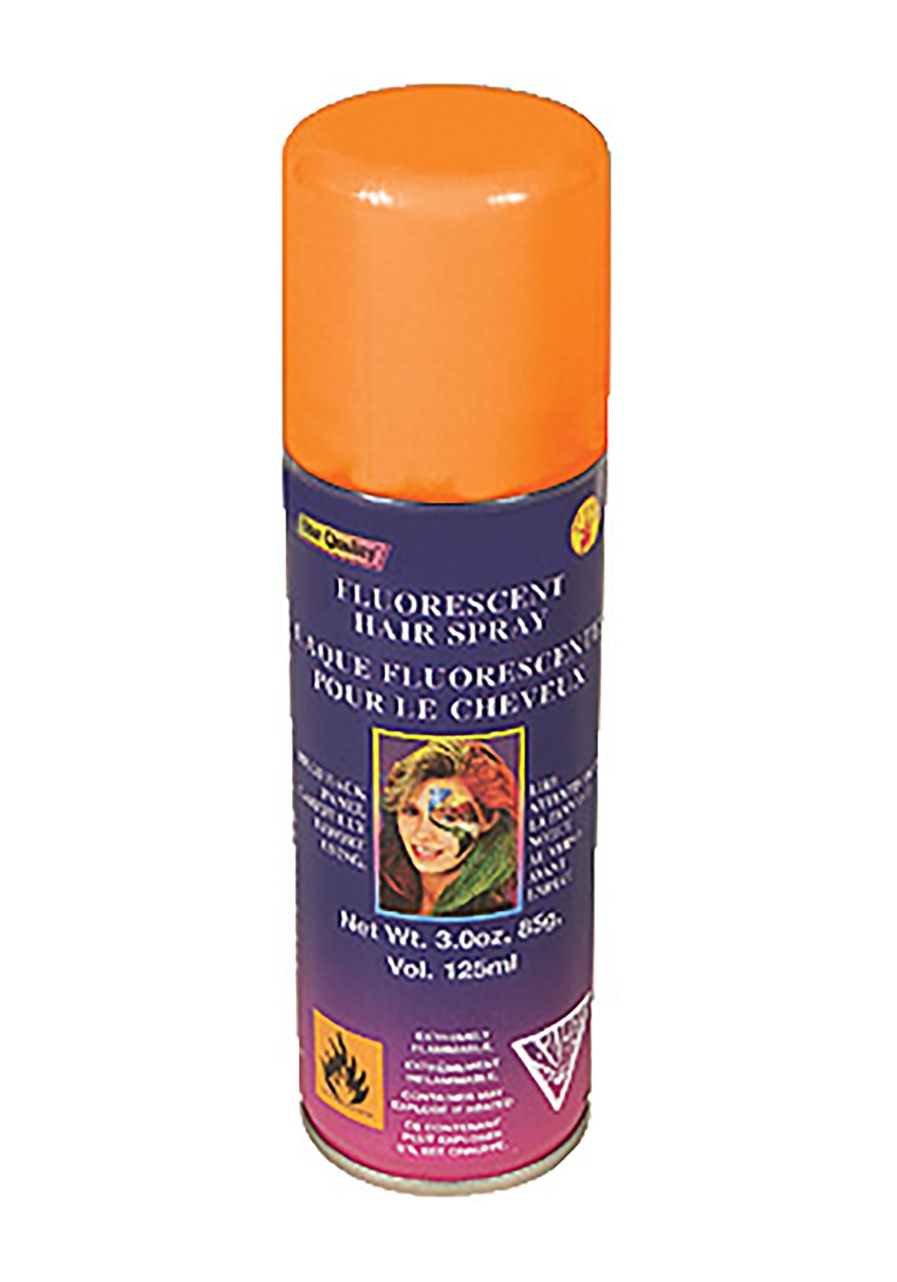 Florescent Orange Hair Spray