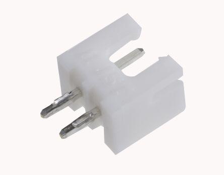 JST , XH, B2B, 2 Way, 1 Row, Straight PCB Header (5)