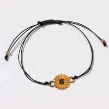 Sunflower Decor Bracelet