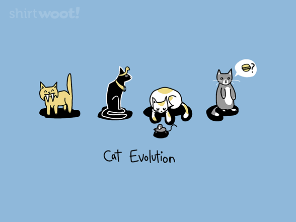 Cat Evolution T Shirt