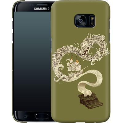 Samsung Galaxy S7 Edge Smartphone Huelle - Unleashed Imagination von Enkel Dika